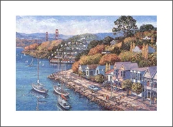 ANNA CHRASTA  EDITIONS  Handsigned-&-Numbered SAUSALITO